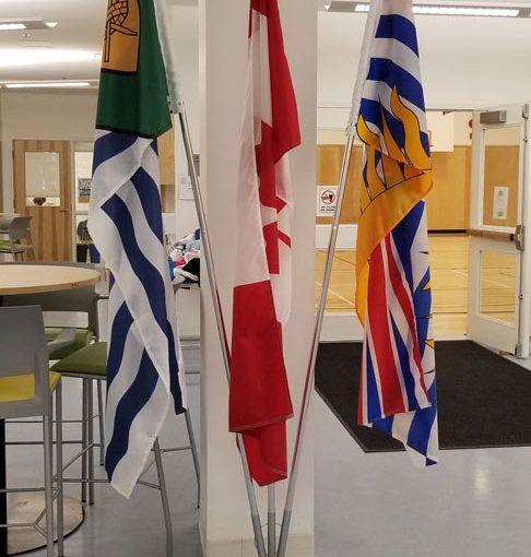 Flags-on-Pole