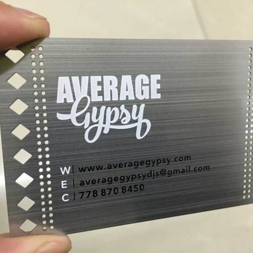 Brushed-Silver-Metal-Business-Cards