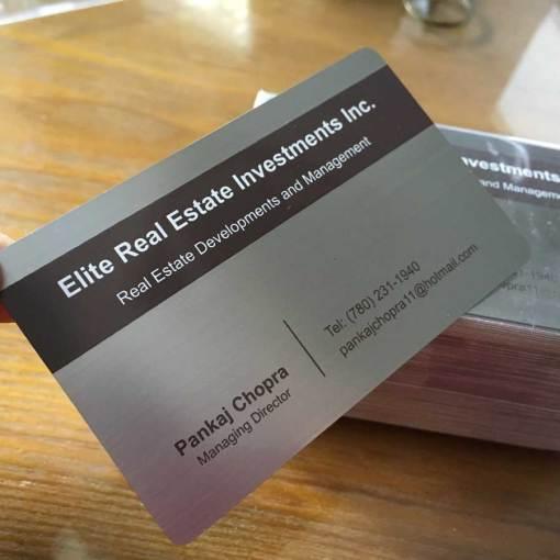 Printed-Silver-metal-cards