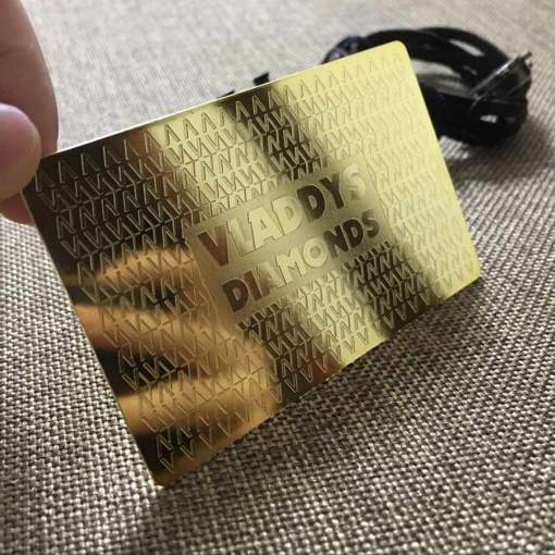 Gold-Metal-Luxury-Business-Cards