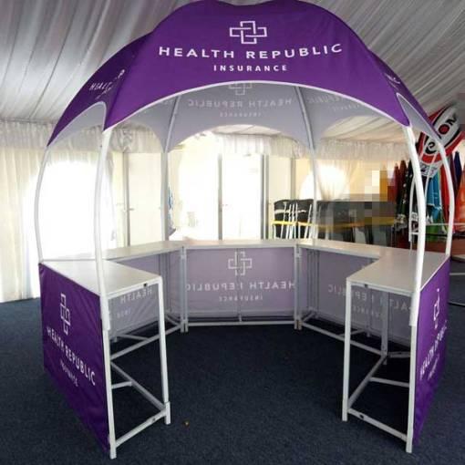 Hexagon-booth-tent-printed-shipped-Virginia
