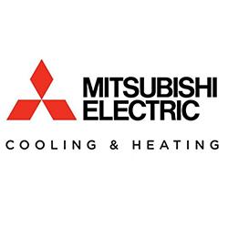Mitsubishi Cooling & Heating Logo