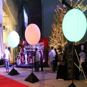 Inflatable-Glow-Ball-Stands