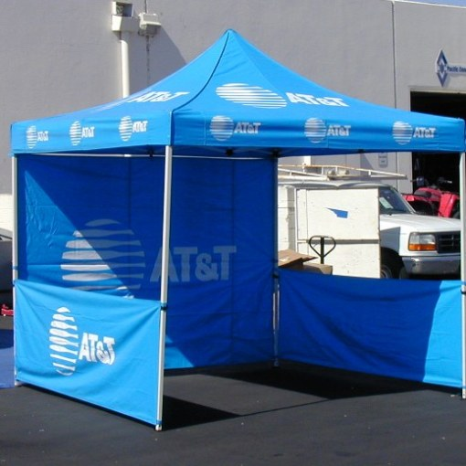 Printed Pop up Canopy tent with Wall package