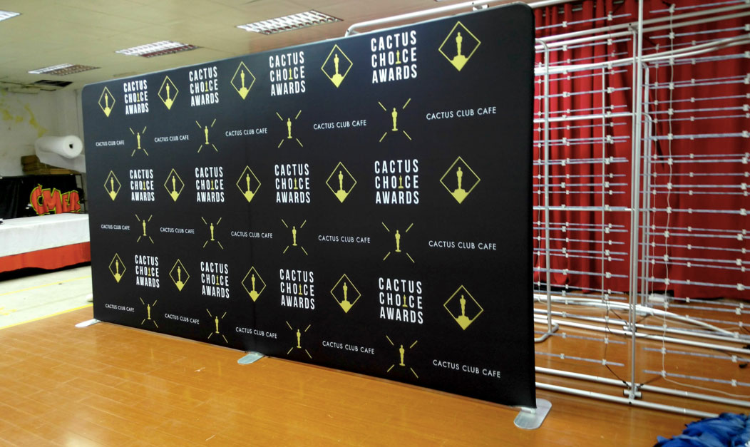 Step And Repeat Backdrop Logo Walls For Red Carpet Events