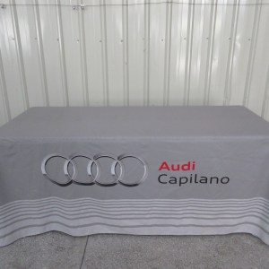 Printed tablecloths with logo