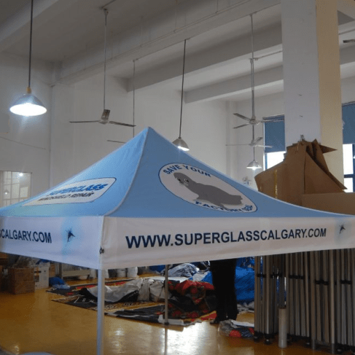 Calgary Pop up printed Canopy Tent