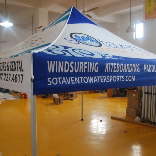 Custom Tent Printing for Puerto Rico