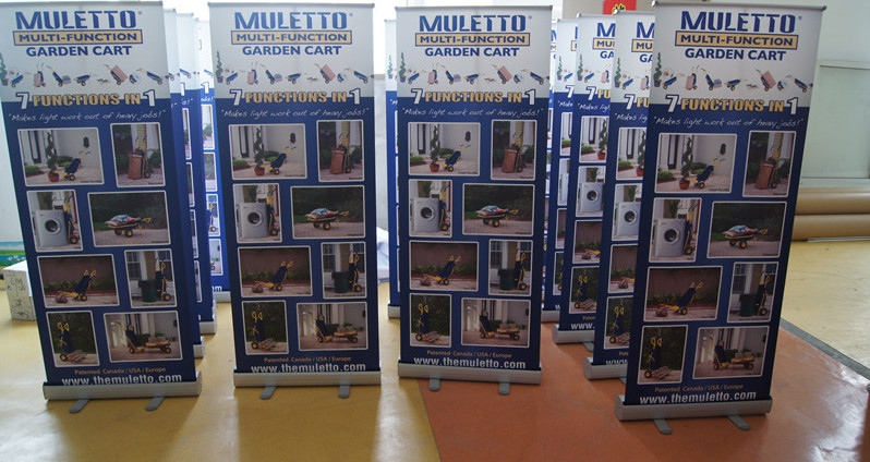 Retractable Banner Stand Printing Canada and USA