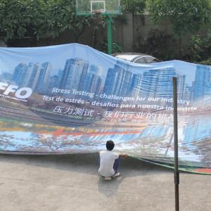 Large Fabric Backdrop Printing