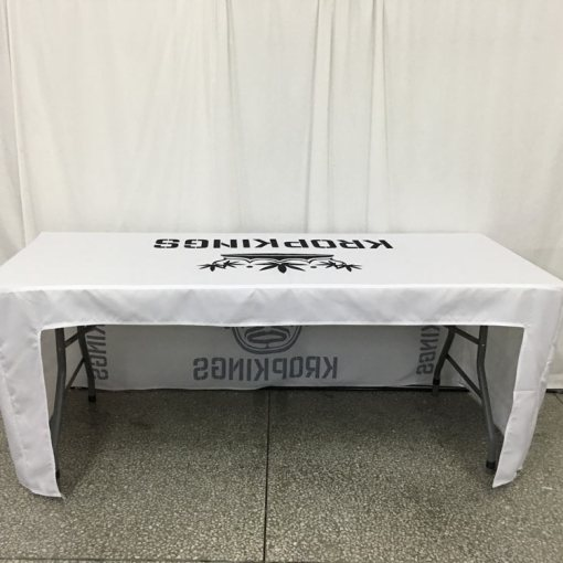 Fitted Open Back Tablecloth