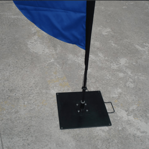 Heavy duty baseplate for feather flag