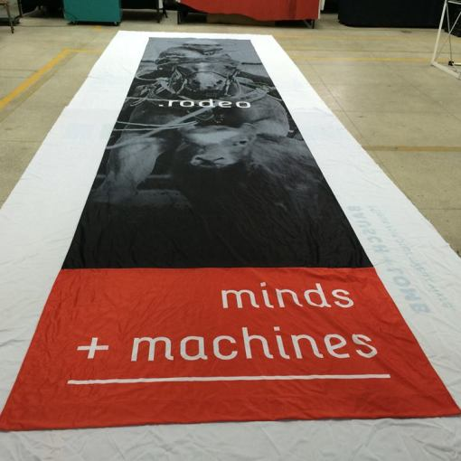 Fabric Banner Printing shipped to USA