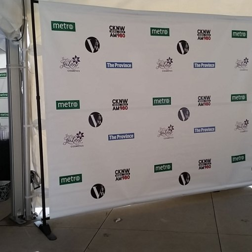 Step and Repeat Backdrop Stand