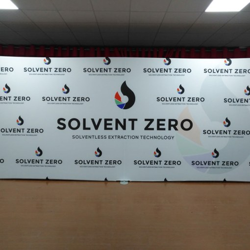 20 Foot Wide Logo Wall