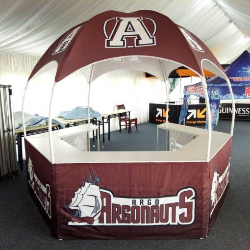 Illinois printed tent