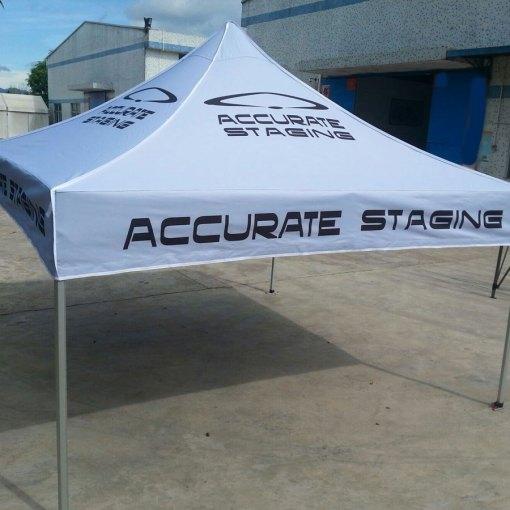 California Pop up Printed Tent