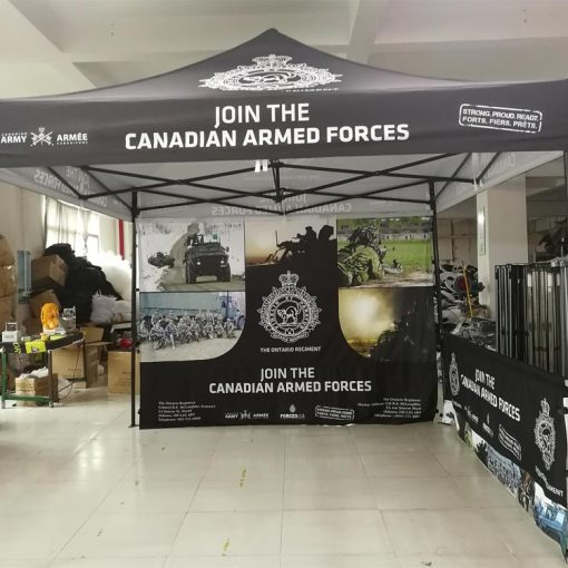 Printed Pop up Canopy shipped to Toronto