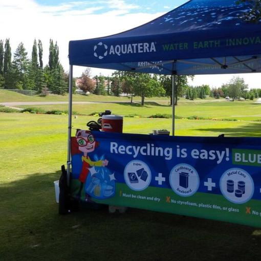 Pop up Printed Tent Canopy - Shipped to Alberta