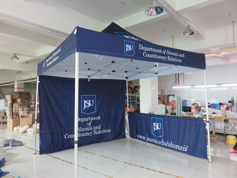 Canopy Tent logo printing Jackson Mississippi Memphis Tenessee & Custom Printed Pop up Canopy Tents - Free Shipping