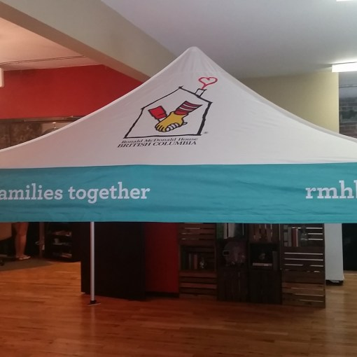 Printed Canopy tent Pop up 10 x 10