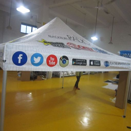Quality Pop up custom printed tents