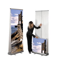Double Sided Retractable Banners Vancouver