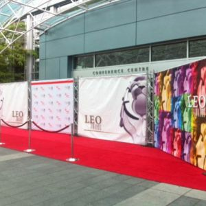Vancouver Step and Repeat for Leo Awards