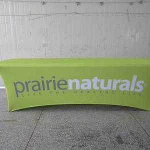Logo tablecloth