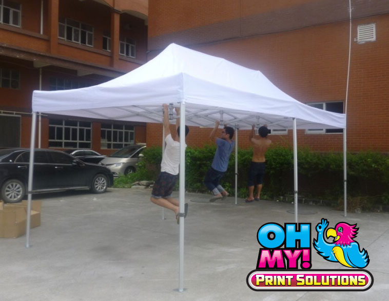 Custom Printed Pop up Canopy Tents | Pop Up Tent Accessories