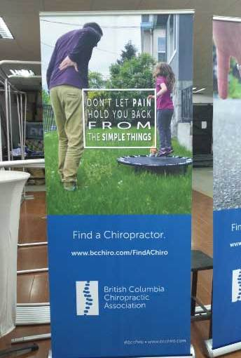 Vancouver Canada Retractable Banner Stands