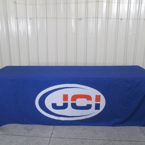 Custom printed tablecloth Alberta