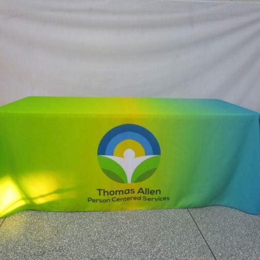 customized tablecloths