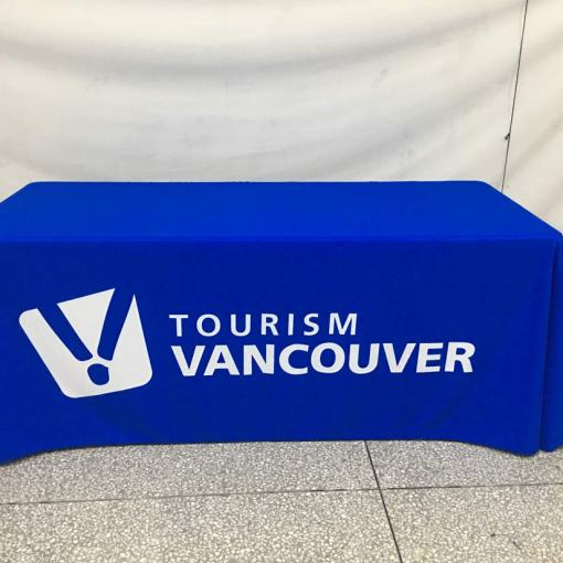 Vancouver printed tablecloths