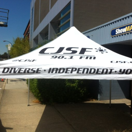 printed pop up canopy  Vancouver also available in Toronto Montreal Edmonton Calgary