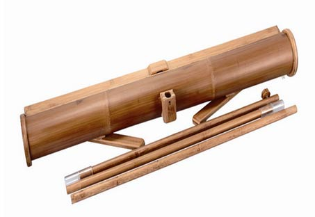 Bamboo-Banner-Stand