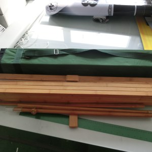 Bamboo Banner Stand and Frame