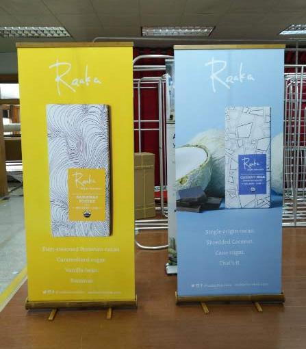 Bamboo Banner Stands Shipped to New York