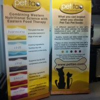 Bamboo Retractable Banners with Canvas banner USA