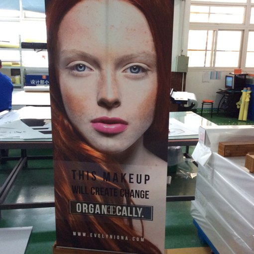 Ontario Bamboo Banner Stand