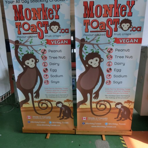 Wholesale Bamboo Banner Stands