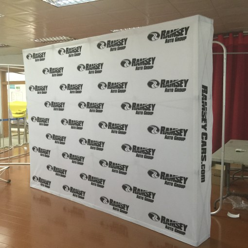Pop up Display Step and Repeat