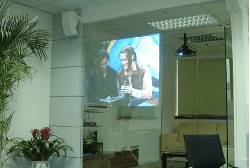 Indoor Rear projection film