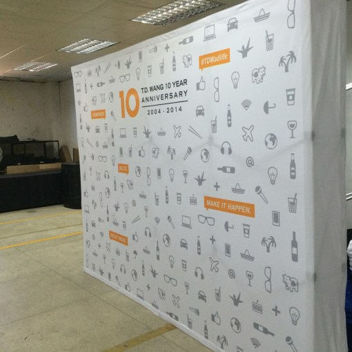 Pop up Banner Display