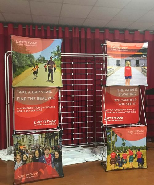 Pop up Display Banners