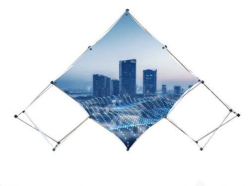 Rhombus Pop up Display