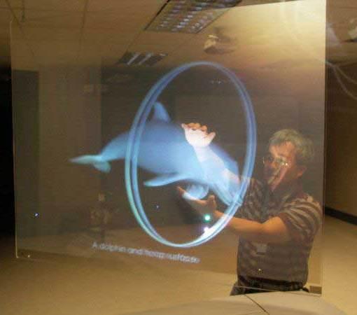 Transparent-rearprojection-film