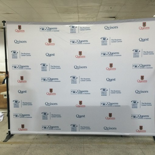 Step and Repeat with Stand shipped to Ontario