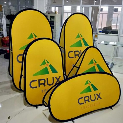 Pop-up-Banners-Oval