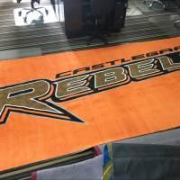 large logo mats